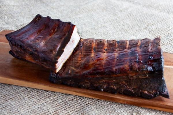 Hämsa BBQ hõrk, vähesoolane suitsuribi